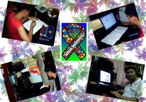 gumagawa ng assignment si lester at pagnatapos hirit nya ang you-tube