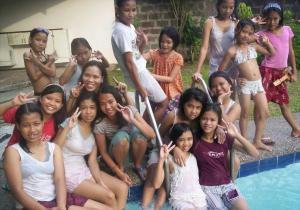 mga batang nasa orphanage.... sa Marikina