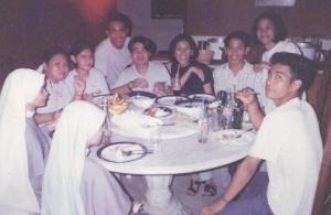 mga nakasama sa PYC at naging classmate sa DLSU na AVE MARIA FRANCISCAN sisters