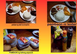 responsible to prepare their baon